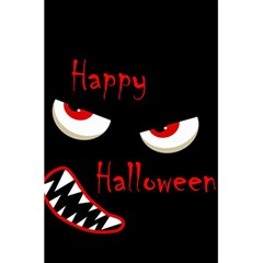 Happy Halloween - red eyes monster 5.5  x 8.5  Notebooks