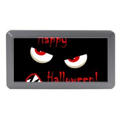 Happy Halloween - red eyes monster Memory Card Reader (Mini)