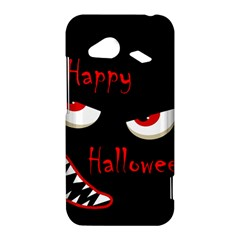 Happy Halloween - red eyes monster HTC Droid Incredible 4G LTE Hardshell Case