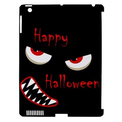 Happy Halloween - red eyes monster Apple iPad 3/4 Hardshell Case (Compatible with Smart Cover)