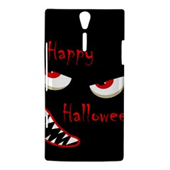 Happy Halloween - red eyes monster Sony Xperia S