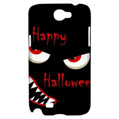 Happy Halloween - red eyes monster Samsung Galaxy Note 2 Hardshell Case