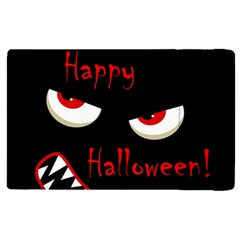 Happy Halloween - red eyes monster Apple iPad 3/4 Flip Case