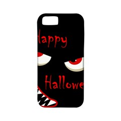Happy Halloween - red eyes monster Apple iPhone 5 Classic Hardshell Case (PC+Silicone)