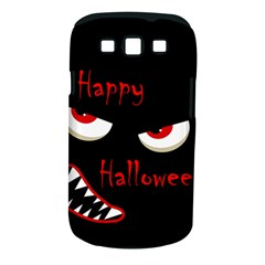 Happy Halloween - red eyes monster Samsung Galaxy S III Classic Hardshell Case (PC+Silicone)