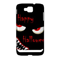 Happy Halloween - red eyes monster Samsung Ativ S i8750 Hardshell Case