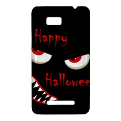Happy Halloween - red eyes monster HTC One SU T528W Hardshell Case
