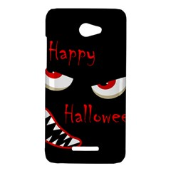Happy Halloween - red eyes monster HTC Butterfly X920E Hardshell Case