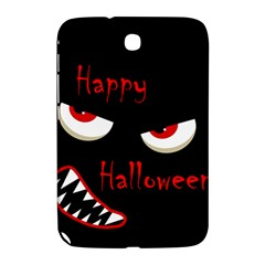 Happy Halloween - red eyes monster Samsung Galaxy Note 8.0 N5100 Hardshell Case