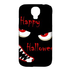 Happy Halloween - red eyes monster Samsung Galaxy S4 Classic Hardshell Case (PC+Silicone)