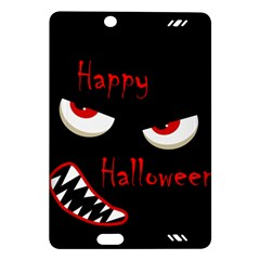 Happy Halloween - red eyes monster Amazon Kindle Fire HD (2013) Hardshell Case