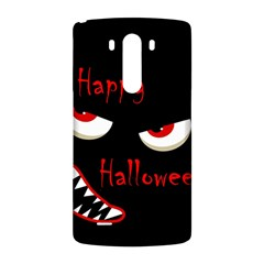 Happy Halloween - red eyes monster LG G3 Back Case