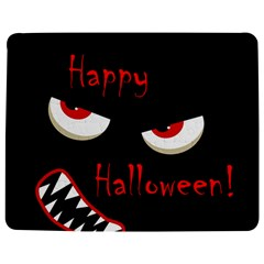 Happy Halloween - red eyes monster Jigsaw Puzzle Photo Stand (Rectangular)