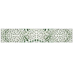 Green Snake Texture Flano Scarf (large)