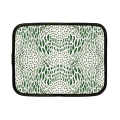 Green Reptile Scales Netbook Case (small)
