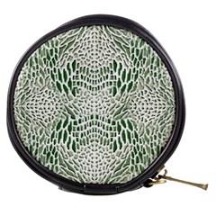 Green Reptile Scales Mini Makeup Bags