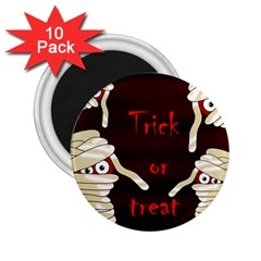 Halloween mummy 2.25  Magnets (10 pack)