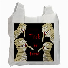 Halloween mummy Recycle Bag (Two Side)