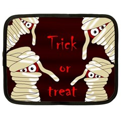Halloween mummy Netbook Case (XXL)