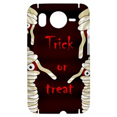 Halloween mummy HTC Desire HD Hardshell Case