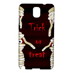 Halloween mummy Samsung Galaxy Note 3 N9005 Hardshell Case