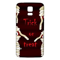 Halloween mummy Samsung Galaxy S5 Back Case (White)