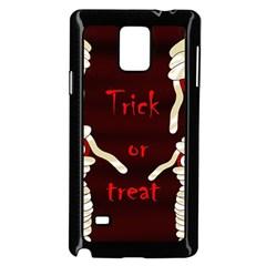 Halloween mummy Samsung Galaxy Note 4 Case (Black)