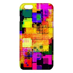 Abstract Squares Background Pattern iPhone 6 Plus/6S Plus TPU Case