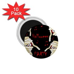 Halloween mummy party 1.75  Magnets (10 pack)
