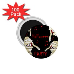 Halloween mummy party 1.75  Magnets (100 pack)