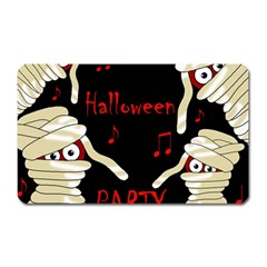 Halloween mummy party Magnet (Rectangular)