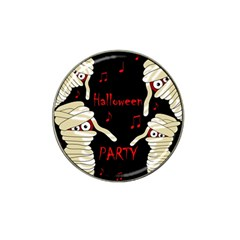Halloween mummy party Hat Clip Ball Marker (10 pack)