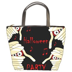 Halloween mummy party Bucket Bags