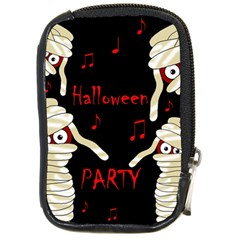 Halloween mummy party Compact Camera Cases