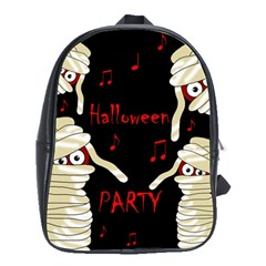 Halloween mummy party School Bags(Large)