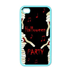 Halloween mummy party Apple iPhone 4 Case (Color)