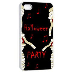 Halloween mummy party Apple iPhone 4/4s Seamless Case (White)