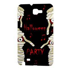 Halloween mummy party Samsung Galaxy Note 1 Hardshell Case