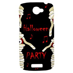 Halloween mummy party HTC One S Hardshell Case