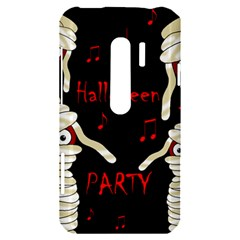 Halloween mummy party HTC Evo 3D Hardshell Case
