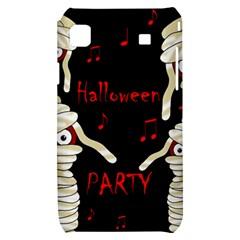 Halloween mummy party Samsung Galaxy S i9000 Hardshell Case