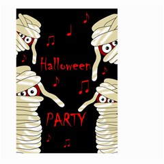 Halloween mummy party Large Garden Flag (Two Sides)