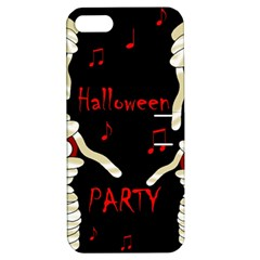 Halloween mummy party Apple iPhone 5 Hardshell Case with Stand