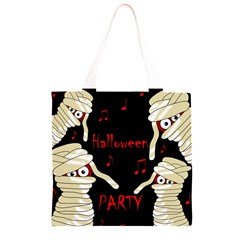 Halloween mummy party Grocery Light Tote Bag