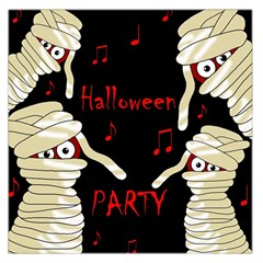 Halloween Mummy Party Large Satin Scarf (square)
