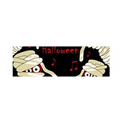 Halloween mummy party Satin Scarf (Oblong)