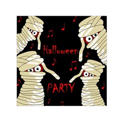 Halloween mummy party Small Satin Scarf (Square)