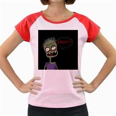 Halloween zombie Women s Cap Sleeve T-Shirt