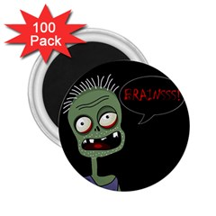 Halloween zombie 2.25  Magnets (100 pack)