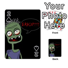 Halloween zombie Playing Cards 54 Designs